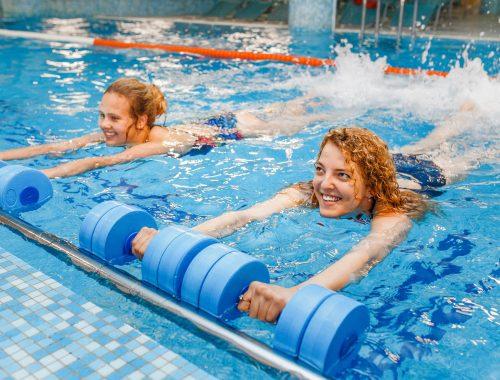 Mit Spaß im Wasser bewegen - Aquafitness